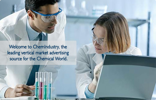Welcome to ChemIndustry, the leading vertical market advertising source for the Chemical World.